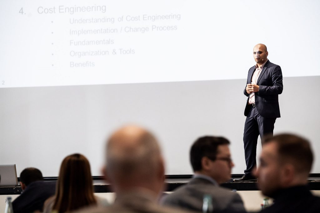 Cost Engineering Summit 2019 mit Ramazan Kocak