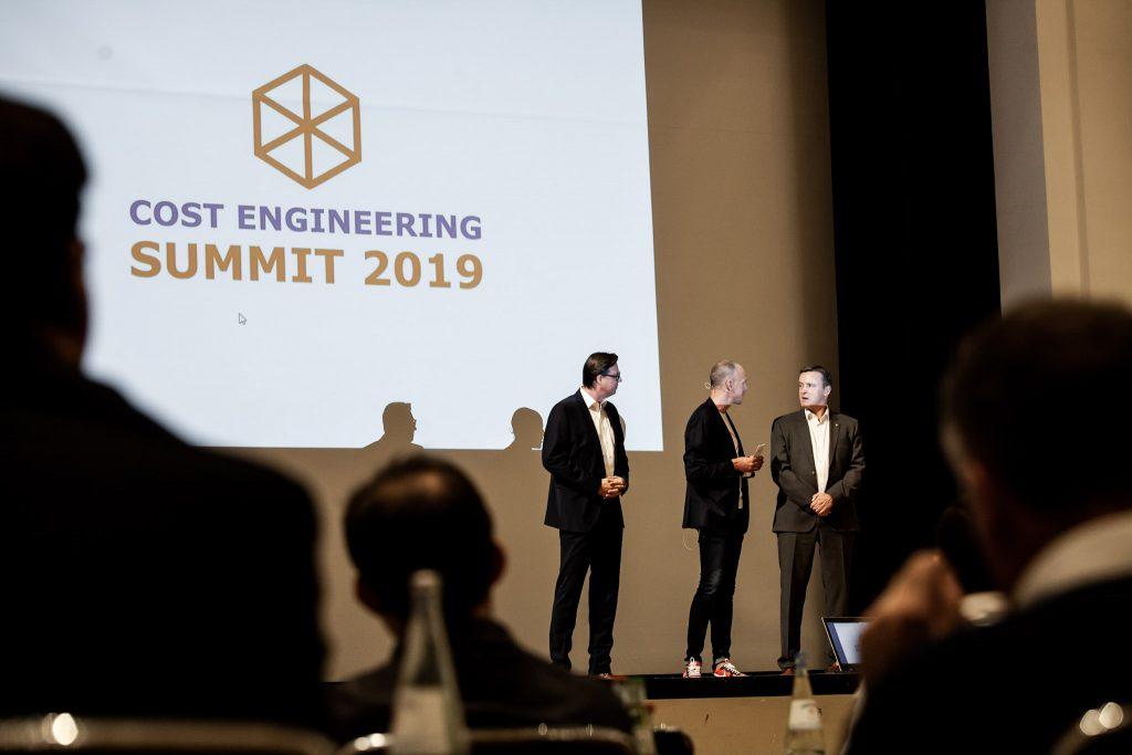 Cost Engineering Summit 2019 Eröffnungsrede mit Frank Weinert, Steffen Goebel, Rüdiger Muth