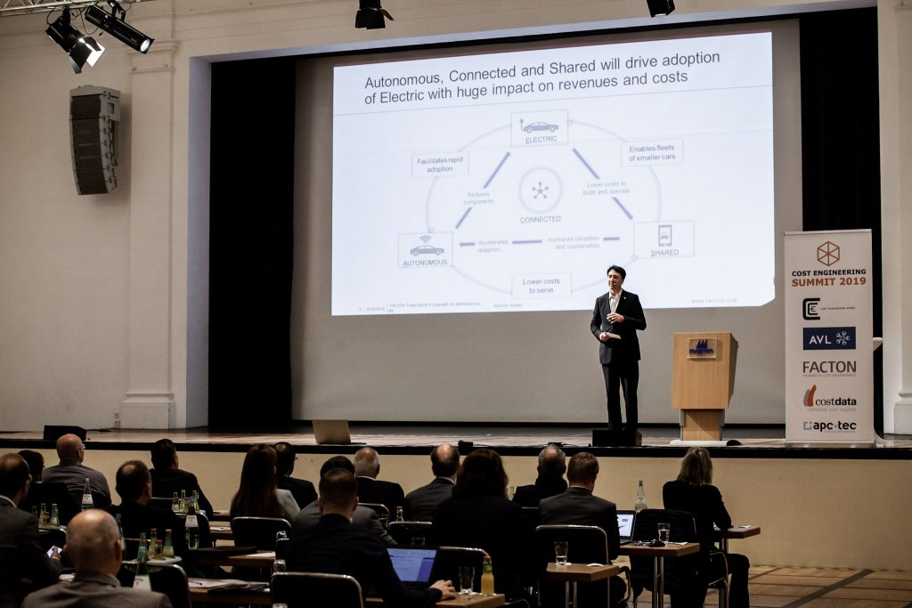Cost Engineering Summit 2019 Alexander M. Swoboda