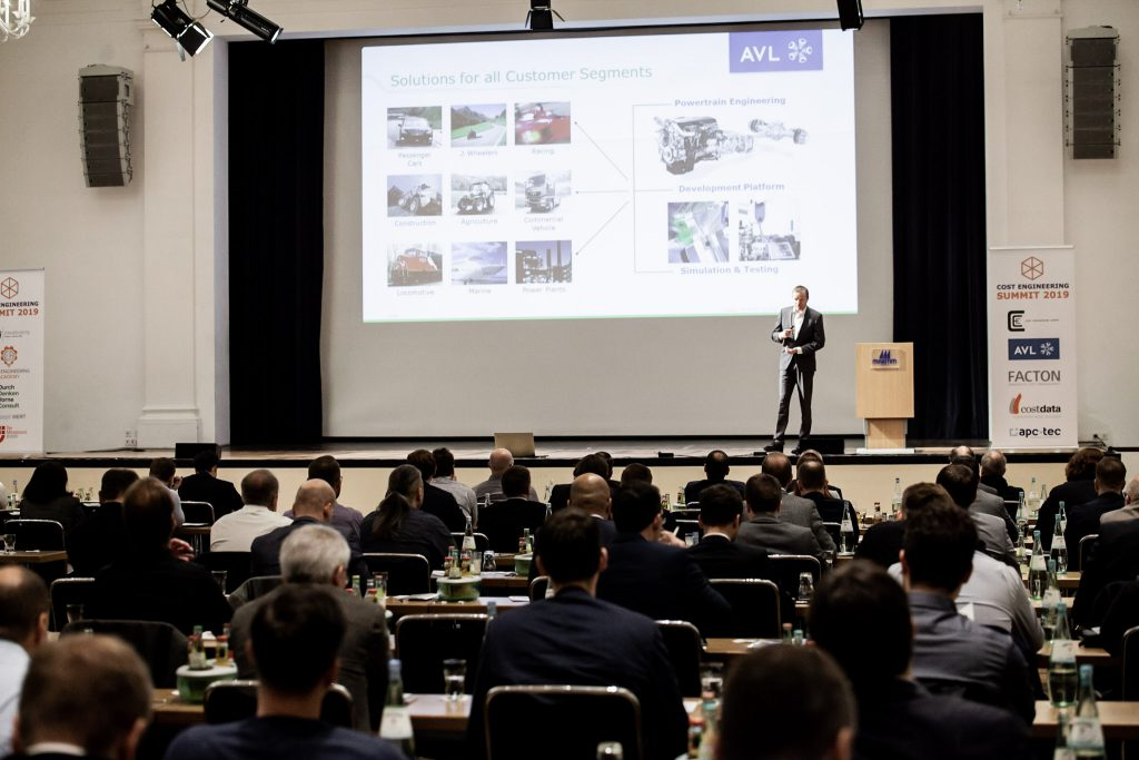 Cost Engineering Summit AVL Georg von Falck
